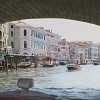 Under the Rialto Bridge, Venice